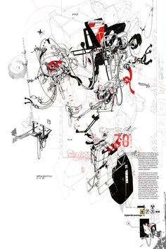 Hybridrawings Bryan Cantley 2008