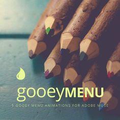 Gooey Menu – Adobe Muse Widget Directory