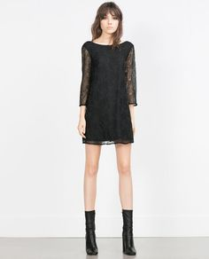 ZARA - WOMAN - BEAD EMBROIDERED DRESS