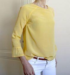 Patron blouse femme Stockholm - du 34 au 50 - couture - Patrons et tutoriels de couture chez Makerist