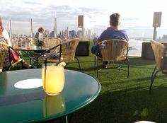 De todos los colores. The standard cocktail bar new york