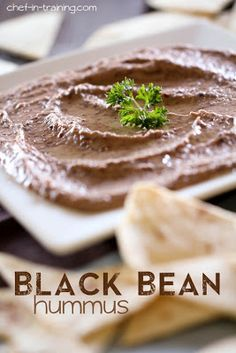 Black Bean Hummus and other tasty summer side dishes #summersides