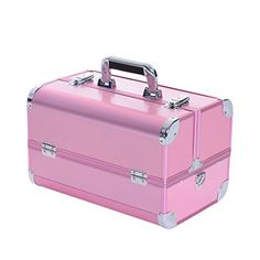 "Soozier Deluxe 14"" Cosmetics Makeup / Jewelry Travel Train Case - Pink Soozier http://www.amazon.com/dp/B00J4EZVXO/ref=cm_sw_r_pi_dp_-k66wb04C9B99"