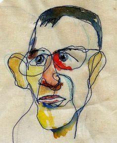 Image result for stitch portrait artists