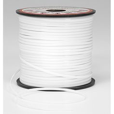 Rexlace Plastic Lace - White - 100 yards