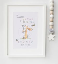 Peter rabbit baby quote beatrix potter nursery print picture personalised new baby boygirl peter rabbit nursery birth name print keepsake picture christening gift unframed by lexislittleprints on etsy negle Image collections