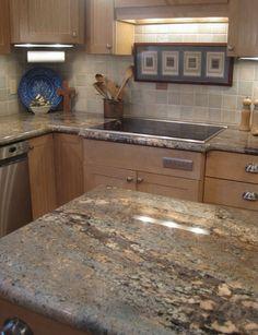 Charmant Crema Bordeaux Granite Countertops