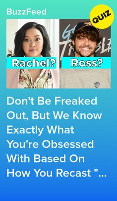 "Don't Be Freaked Out, But We Know Exactly What You're Obsessed With Based On How You Recast ""Friends"" Quizzes About Boys, Fun Quizzes To Take, Friends Quizzes Tv Show, Friends Tv, Buzzfeed Personality Quiz, Personality Quizzes, Quizzes Funny, Random Quizzes, Hilarious Memes"