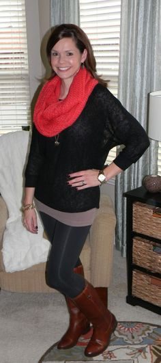 outfits with black leggings - Google Search