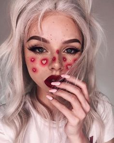 scary makeup looks make up * scary makeup looks & scary makeup looks easy & scary makeup looks halloween ideas & scary makeup looks make up Makeup Trends, Makeup Inspo, Makeup Inspiration, Makeup Ideas, Nail Inspo, Makeup Tutorials, Style Inspiration, Makeup Goals, Beauty Makeup