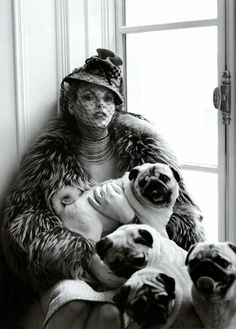 by Steven Meisel: Linda Evangelista by Steven Meisel ... I hope she isn't wearing fur because unless you're born with it wearing real fur is wrong