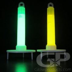 """- 4"""" Glow Sticks with Removable Plastic Stand! - Mark Areas at Night Quickly and Easily! - Light Up Pathways, Lanterns and Pumpkins! - Glow Run Markers! Night Sports! Camping! Glow Stick Crafts, Glow Crafts, Led Light Stick, Light Up, Glow Run, Glow Stick Wedding, Neon Glow, Glow Party, Camping Lights"""