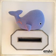 Personalized Whale for Paula Whale, Dinosaur Stuffed Animal, Toys, Animals, Stuffed Toys, Animales, Whales, Animaux, Toy