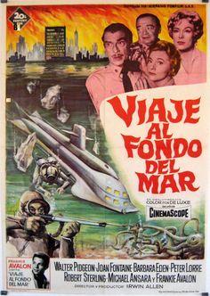 Viaje al fondo del mar Classic Series, Classic Tv, Classic Films, Sci Fi Series, Tv Series, Mejores Series Tv, Frankie Avalon, Teenage Werewolf, Sci Fi Tv