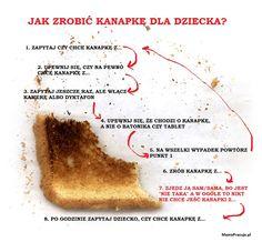 Jak zrobić kanapkę dla dziecka :)
