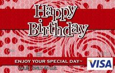 Give Someone A Fun Gift Card This Year For Their Birthday By Dragonfire Graphics