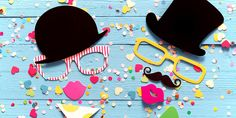 Printable Photo Booth Props: Party Props Made Easy - Personal Creations Blog