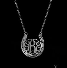 4030 Horseshoe Monogram - Design by Loriece