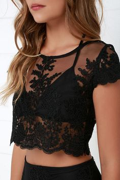 Lace Two-Piece