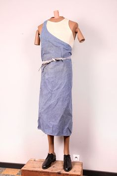 1950's french chambray aprons