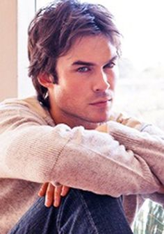 Ian Somerhalder)) Hello I'm Ian and I stay at the local bar a lot don't worry about my personal life because that's not your problem yes I'm a bit of a dick. Anyway I'm going back to drinking see ya
