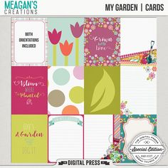 How does your garden grow? Is it full of pretty things or delicious things? You don't have to have a green thumb to scrap a layout using this kit! It is versatile enough to even scrap your everyday!