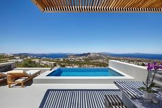 Large private terrace with infinity pool and jacuzzi jets!