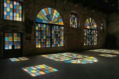 Stained glass art windows