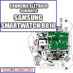 Smartwatch, Placa Pcb, Iphone Repair, Galaxies, Smartphone, Samsung Galaxy, Electronic Schematics, Tutorials, Log Projects