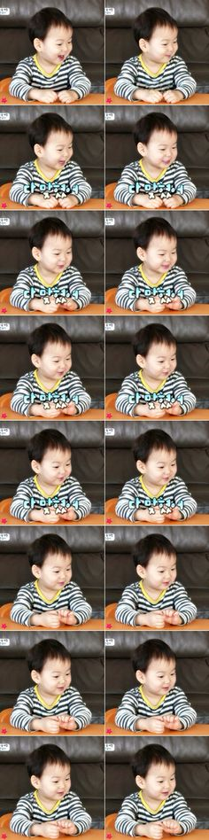 Minguk | The Return of Superman Superman Kids, I Miss You Guys, Song Triplets, Song Daehan, Korean Shows, Celebrity Dads, Baby Pictures, Cute Kids, Baby Kids
