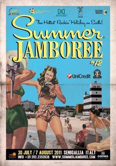 11 fantastiche immagini su Summer Jamboree - Senigallia