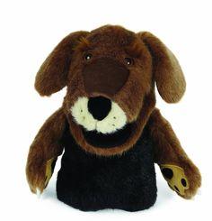Dogzillies Hand Puppet Larry Labrador