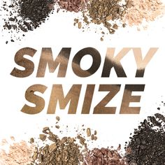 Four shades is all you need to smoke 'em and stun 'em with that #SmokySmize. #TYRABeauty