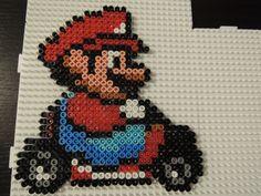 Mario Kart Bügelperlen Perler Beads by Baumberger Entdecker