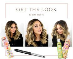 how to do beach waves hair tutorial and product recommendations for thick hair! -Briana Dai