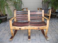 how to make a wine barrel table - Google Search