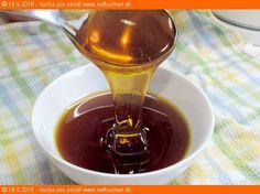 Krásny hustý domáci žihľavový med