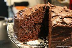 Step-by-step photo recipe for a sinfully rich chocolate layer cake, with chocolate buttercream laced with Scotch. Easy on the eyes. Even easier to make.