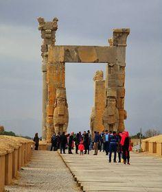 Persepolis☁☂ Gate of all nations - Iran