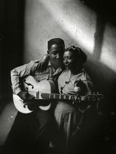 nobodiesofnote: Muddy Waters and his wife Geneva Morganfield