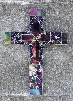 Beautiful Mosaic Cross