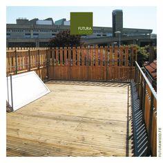 Toit terrasse on pinterest auras terraces and salons - Une terrasse en ville ...