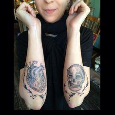 duke_riley 4 months ago · East River Tattoo Broken hearts and broken skulls.