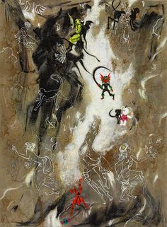 Girls and monkeys, 2015 Anastasia Russa Canvas/oil 162x120 cm