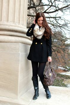 Military inspired with animal accents - Chic Street Style