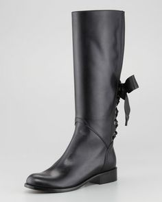 Ascot Boot  by Valentino at Neiman Marcus.