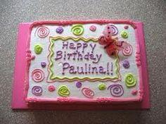cute sheet cake idea