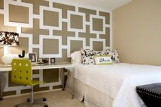 One of the coolest wall treatments ever
