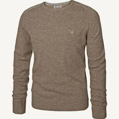 Lambswool Crew Neck Jumper at Fat Face