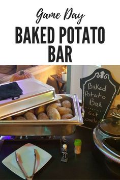 Create An Inexpensive Delightful Meal With A Baked Potato Bar For Your Guests On Days Wedding Reception